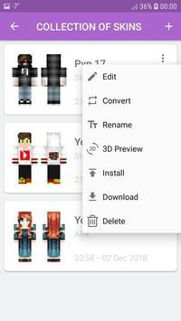 Skins MASTER for MINECRAFT PE(30000 Skins +Editor) screenshot 13