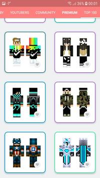 Skins MASTER for MINECRAFT PE(30000 Skins +Editor) screenshot 14