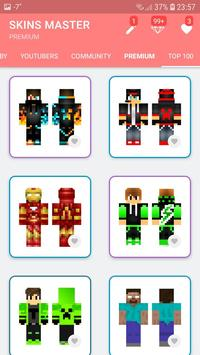 Skins MASTER for MINECRAFT PE(30000 Skins +Editor) screenshot 1