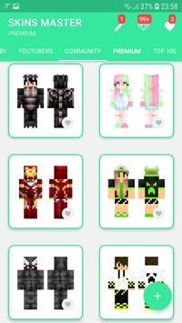 Skins MASTER for MINECRAFT PE(30000 Skins +Editor) screenshot 3