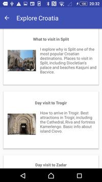 Croatia Tourism screenshot 1