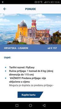 Croatia Airlines capture d'écran 1