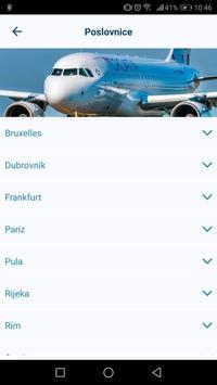 Croatia Airlines capture d'écran 2