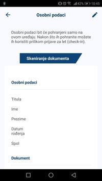 Croatia Airlines capture d'écran 4