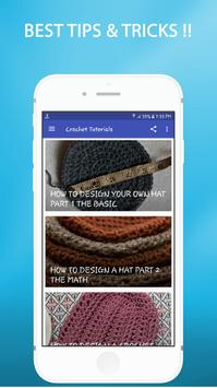 Crochet Tutorials screenshot 4