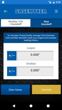 Gagemaker MRP 5B Calculator screenshot 3