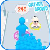 GATHER Crowd City Stickman Simulator icon