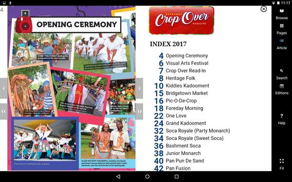 Crop Over Magazine screenshot 1