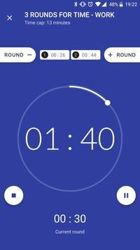 Workout timer : Crossfit WODs & TABATA screenshot 1