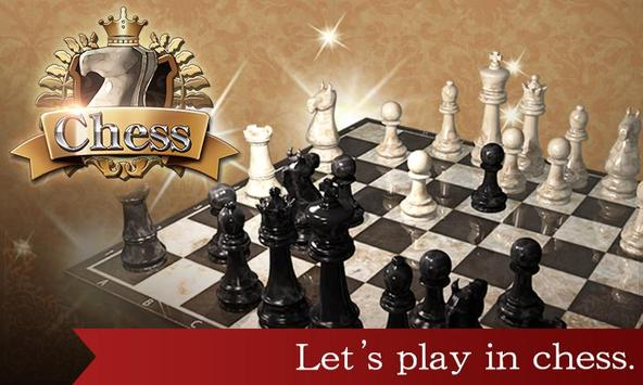 Classic chess-poster
