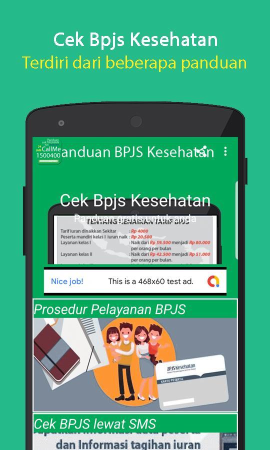 cek BPJS Kesehatan terkini poster