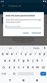 FHLBank Atlanta Events screenshot 1