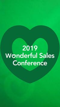 Wonderful Sales Conference poster