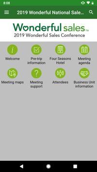 Wonderful Sales Conference screenshot 2