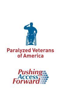 Paralyzed Veterans of America poster
