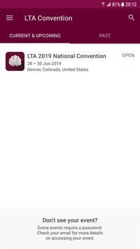 LTA Convention poster
