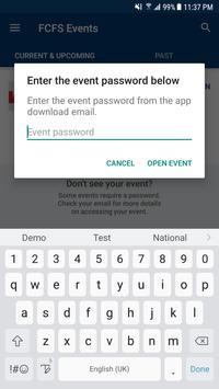 First Command Events screenshot 1