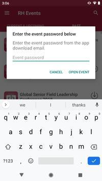 Robert Half Events screenshot 1