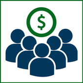 Crowd  Bootstrap icon