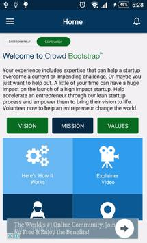 Crowd  Bootstrap poster