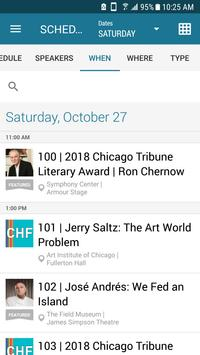 Chicago Humanities Festival 스크린샷 3