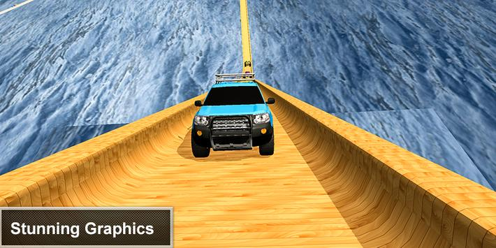 Biggest Ramp Car Stunts Jeep Driver 2019 screenshot 1