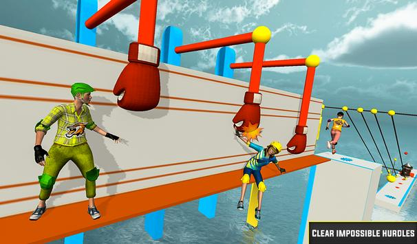 Legendary Stuntman Water Fun Race 3D screenshot 8