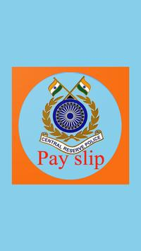 Fast view pay slip for crpf poster