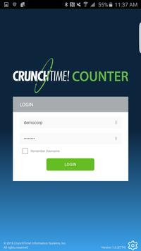 CrunchTime! Counter poster