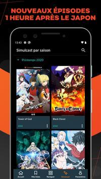 Crunchyroll capture d'écran 1