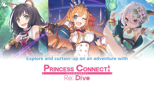 Princess Connect! Re: Dive Affiche