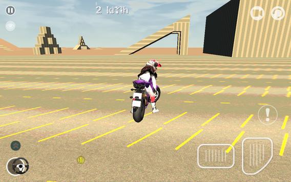 Motorcycle Simulator 3D screenshot 4