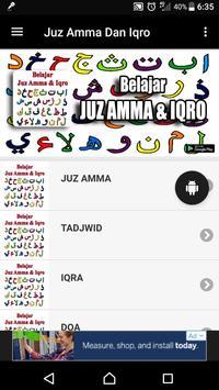 Juz Amma Dan Iqro poster