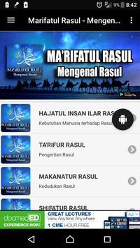 Marifatul Rasul - Mengenal Rasul screenshot 1