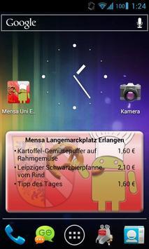 Mensa Erlangen/Nürnberg screenshot 1