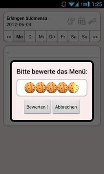 Mensa Erlangen/Nürnberg screenshot 4