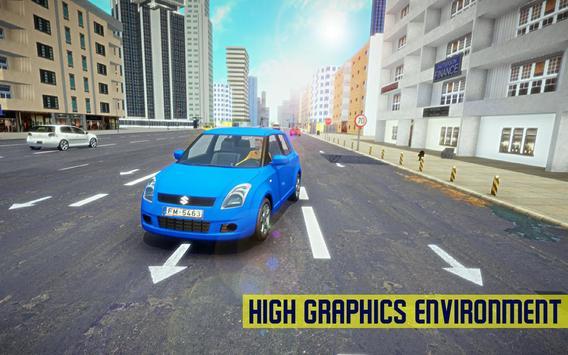 Swift Super Car: City Speed Drifting Simulator poster