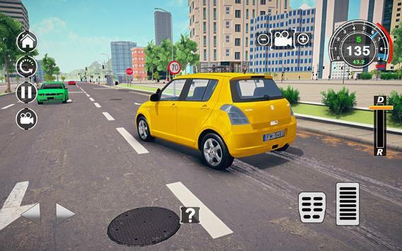 Swift Super Car: City Speed Drifting Simulator screenshot 12