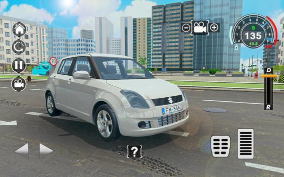 Swift Super Car: City Speed Drifting Simulator screenshot 1