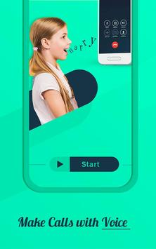 Voice Phone Call Dialer,  Speak and Dial Call poster
