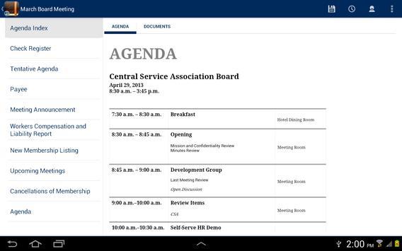 CSA Boardbook screenshot 6