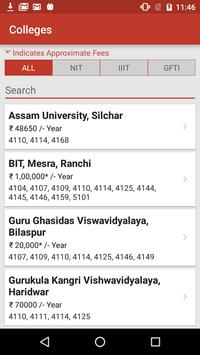 NIT Admission screenshot 16