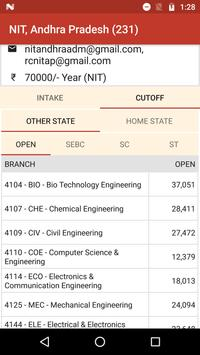 NIT Admission screenshot 12