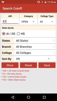 NIT Admission screenshot 2