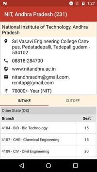 NIT Admission screenshot 4