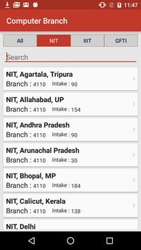 NIT Admission screenshot 6