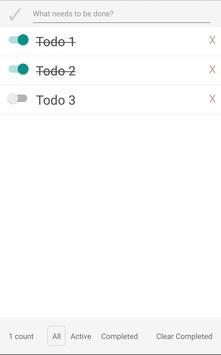 Csaba's ToDo App screenshot 1