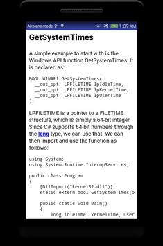 Learn C# - .Net - C Sharp Programming Tutorial App screenshot 4