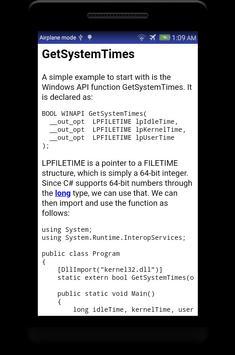 Learn C# - .Net - C Sharp Programming Tutorial App screenshot 23