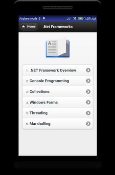 Learn C# - .Net - C Sharp Programming Tutorial App screenshot 3